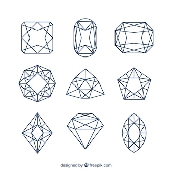 Набор lineal алмазов