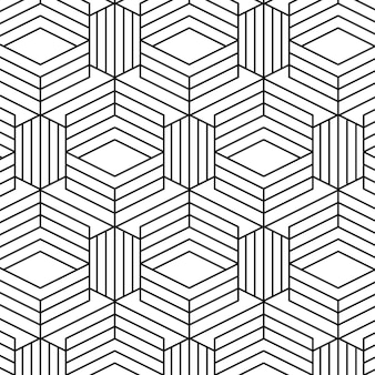Linear abstract lines pattern