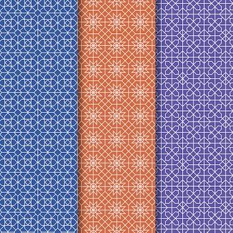 선형 아랍어 패턴 컬렉션