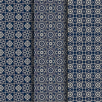 Linear arabic pattern collection