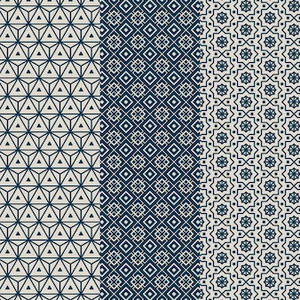 Linear arabic pattern pack