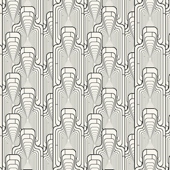 线性平面抽象线条图案