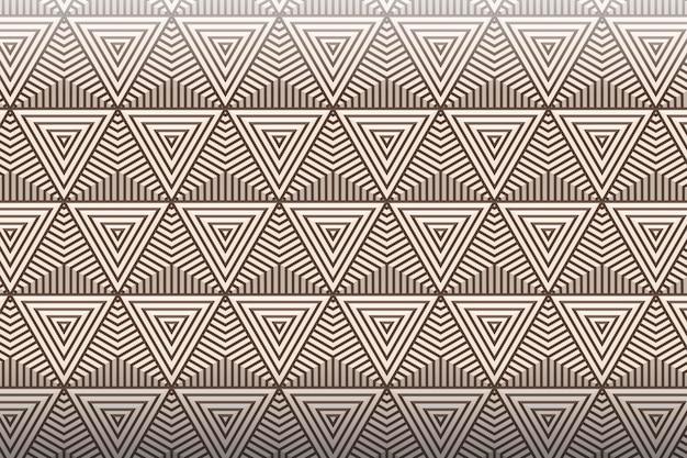 Шаблон линейных плоских абстрактных линий