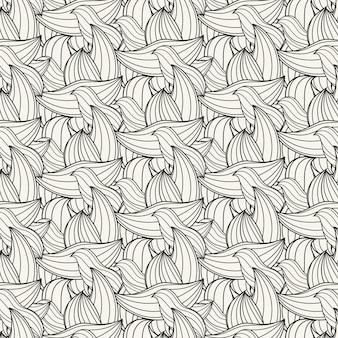 線形フラット抽象的な線パターン