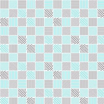선형 평면 추상 라인 패턴