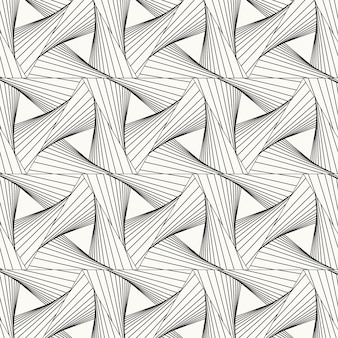 Linear flat abstract lines pattern