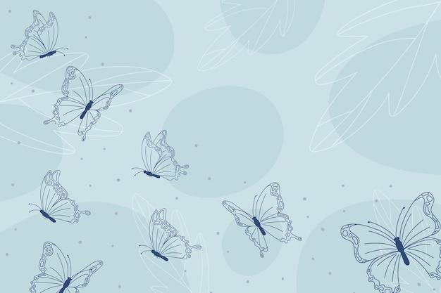 선형 평면 나비 개요 배경