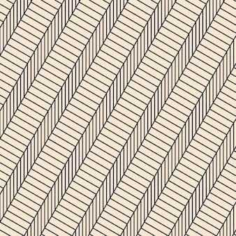Modello di linee astratte design piatto lineare