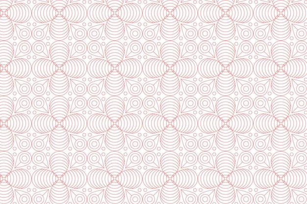 线性平面设计抽象线条图案