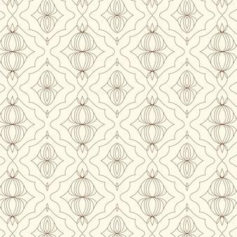 Линейный плоский дизайн абстрактные линии шаблон