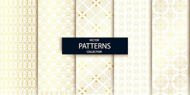 선형 현대 원활한 패턴