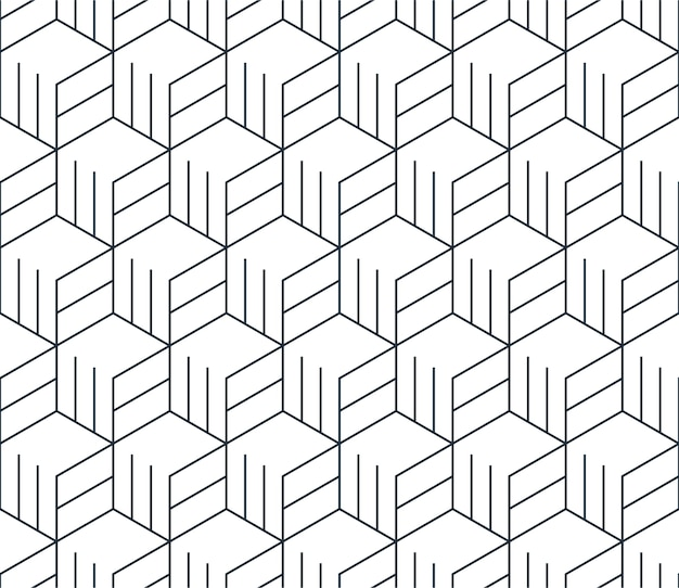 Linear seamless pattern, thin lines. subtle geometric background