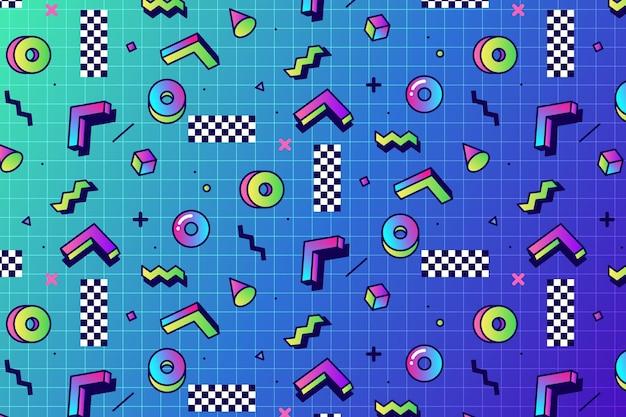 선형 증기 파 패턴