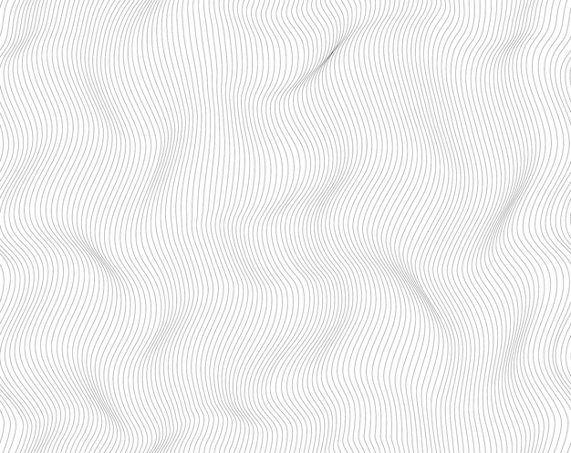 Lines abstract background, light black and white color. vector seamless pattern modern swirl design.
