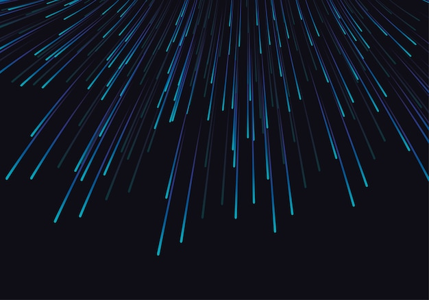 Lines composed of glowing backgrounds