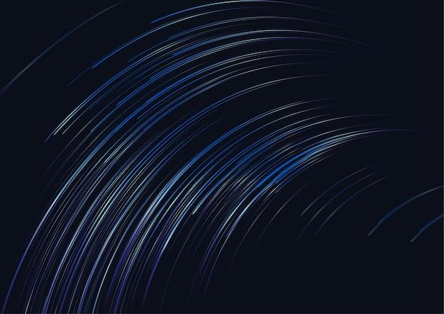 輝く背景、抽象的なベクトルの背景で構成される線