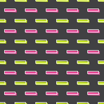 Lines pattern in 80s, 90s retro style. abstract geometric background