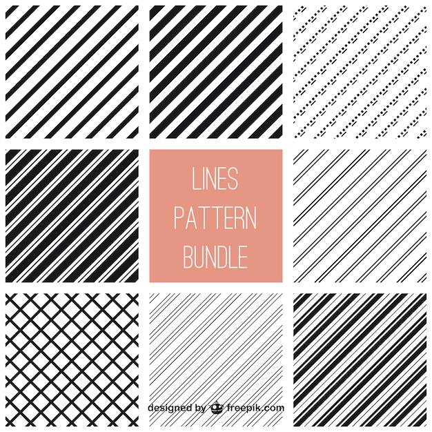 Coreldraw strips pattern