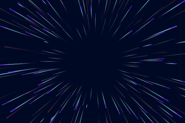 Lines of speed lights background
