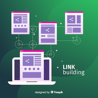 Link building background