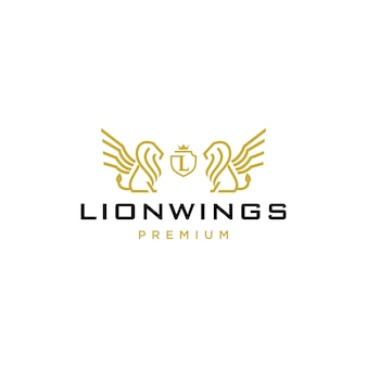 Lion coat of arms logo