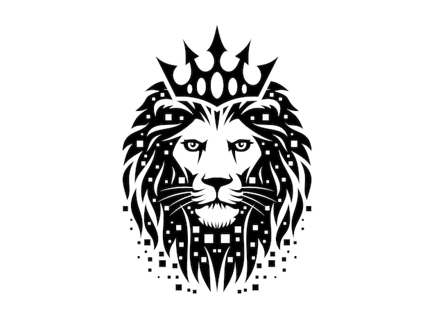 The lion digital