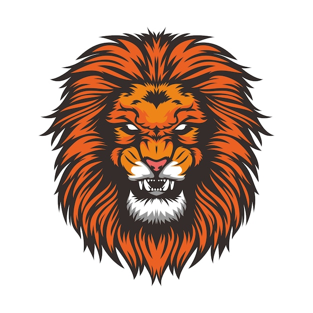 lion vectors photos and psd files free download rh freepik com vector lion tattoo vector lion fish free