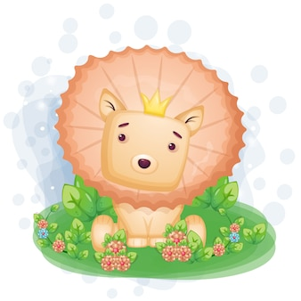 ライオンキング手描きイラスト