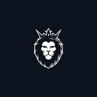Lion king head logo