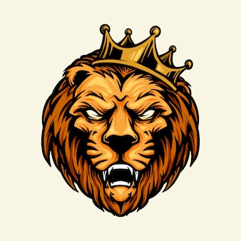ライオンキングマスコットヘッドクラウン