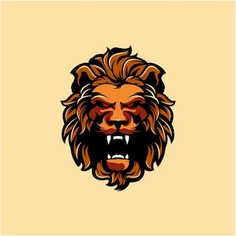 Лев дизайн логотипа бесплатно