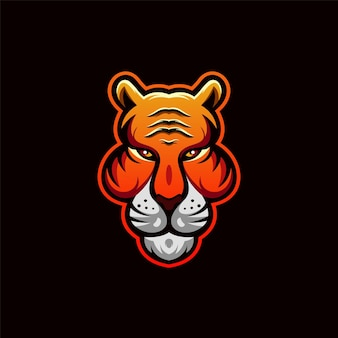Лев логотип дизайн иллюстрация