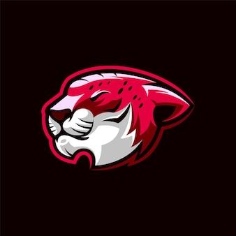 ライオンのロゴデザインイラスト Premiumベクター