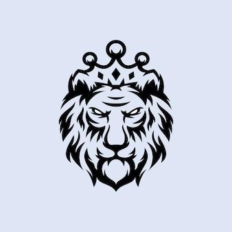 ライオンのロゴデザイン