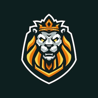 ライオンのロゴeスポーツ
