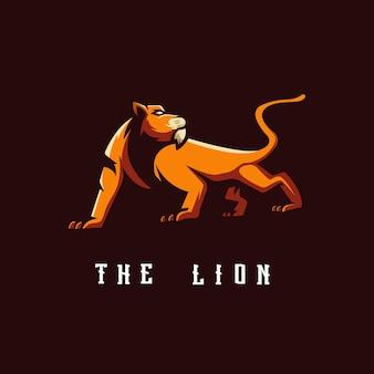 ライオンのロゴ