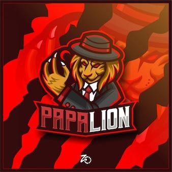 Логотип lion mafia gaming esport