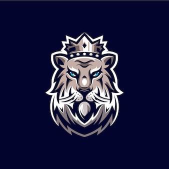 ライオンマスコットロゴデザインイラスト