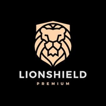 Лев щит логотип