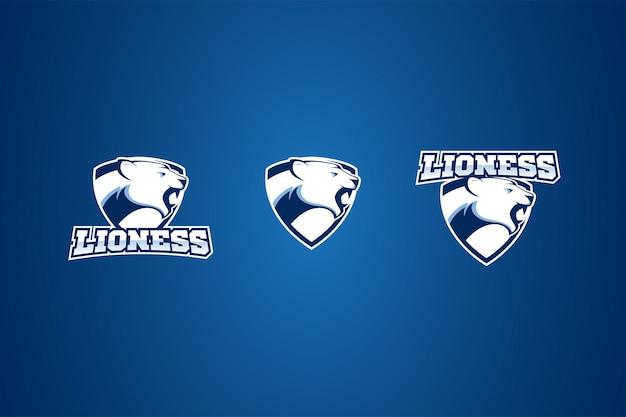 ライオンスポーツエンブレムバッジロゴ