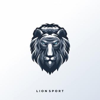 Логотип lion sport
