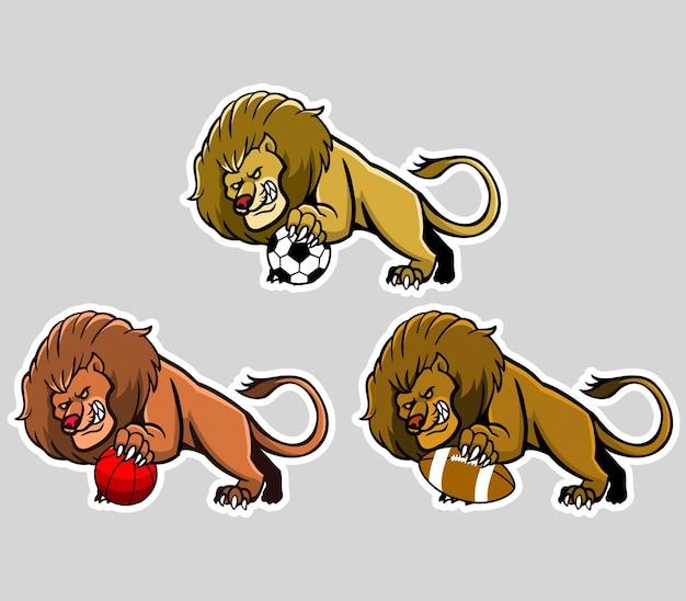 ライオンスポーツマスコット