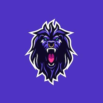 Lion wild vector illustration