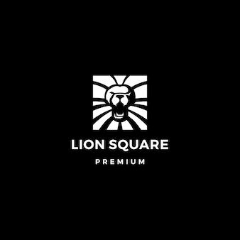Lion квадратный логотип