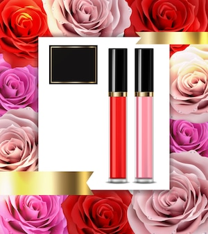 Lip gloss premium cosmetics