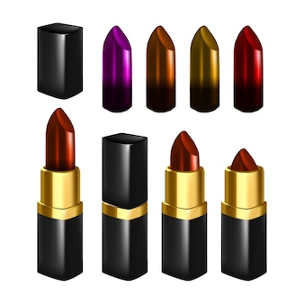 Lipstick make up set