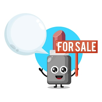 Lipstick for sale cute character mascot
