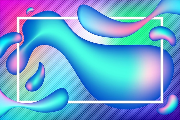 Жидкий абстрактный фон