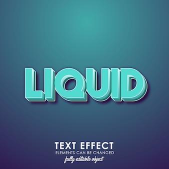 Liquid blue premium text style