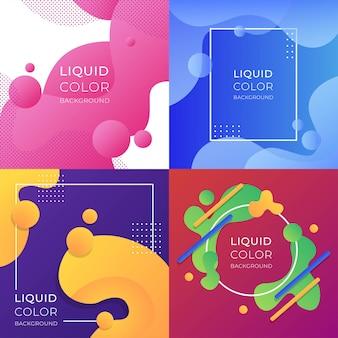 Liquid color background